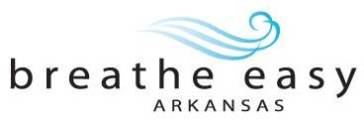 Breathe Easy Arkansas logo