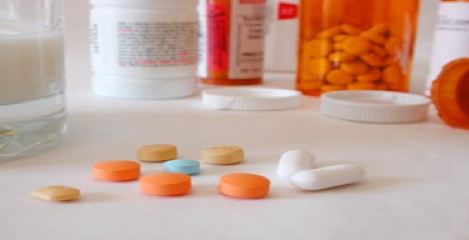 image of pills and pill bottles