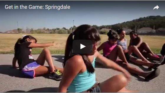 Get in the Game Springdale - link to video on You Tube