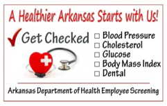 Healthier Arkansas starts with us poster image